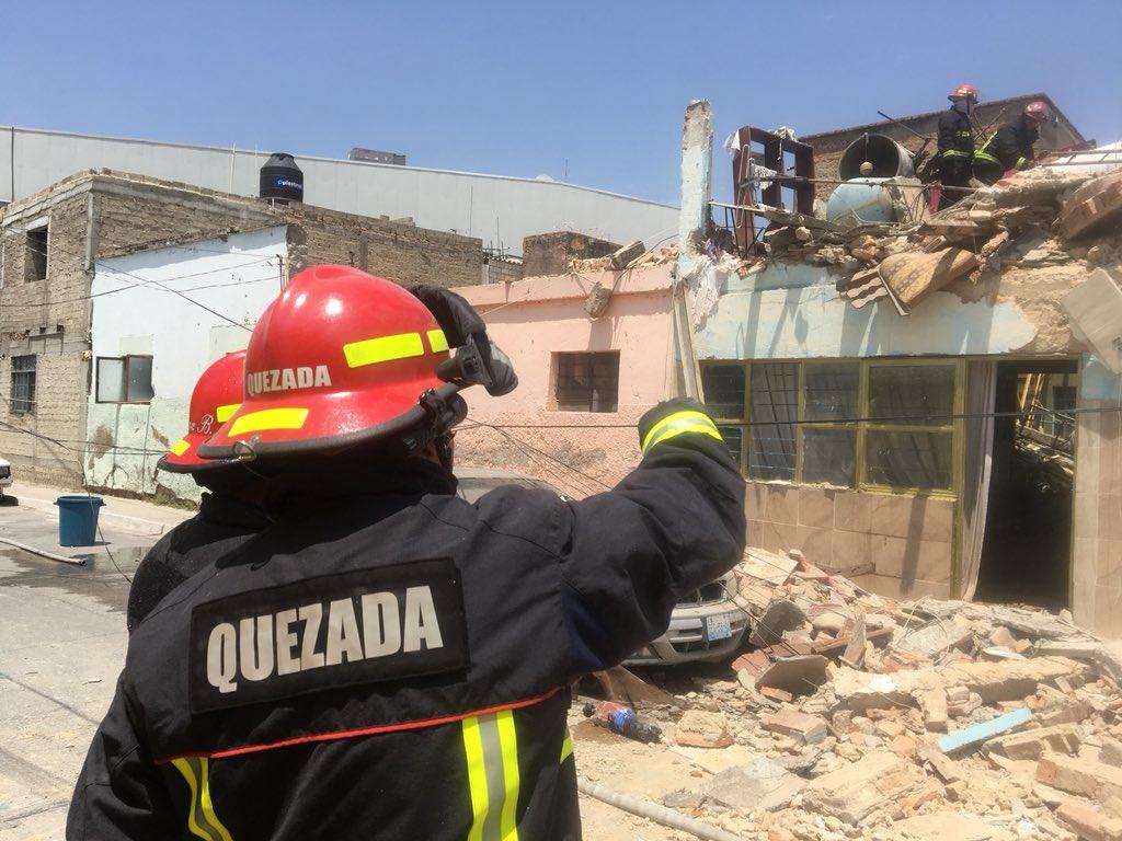 Explosión en Zapopan, deja 17 fincas dañadas
