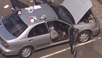 Desactivan explosivo oculto en automóvil, en Australia