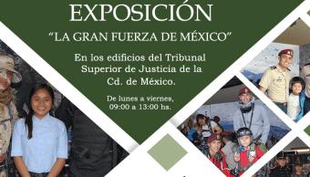 Preparan exposición con vehículos militares en Tribunal Superior de la CDMX