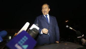 Expresidente Ollanta Humala y su esposa salen de la cárcel en Perú