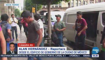 Familiares 43 De Ayotzinapa Acuden Gobierno Cdmx