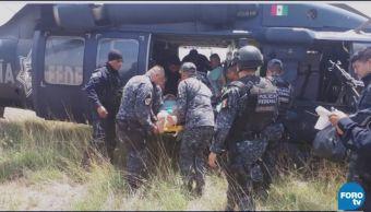 Grupo armado ataca a elementos de la Gendarmería en Guerrero