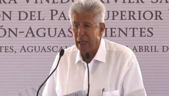 Ruiz Esparza: Contratos de la obra más importante de México son transparentes