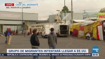 Grupo de Migrantes intentará llegar a Estados Unidos