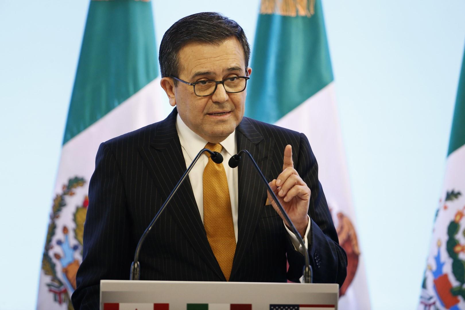 Guajardo y Videgaray se reúnen en Washington con funcionarios de Estados Unidos