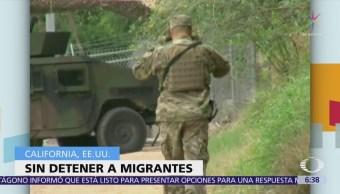 Guardia Nacional desplegada en California no construirá muro ni detendrá a migrantes