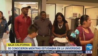 Haitianos contraen matrimonio en Mexicali