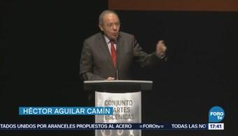 Héctor Aguilar Camín presenta libro sobre la agenda política del país