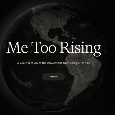 Google presenta herramienta para visualizar movimiento #MeToo