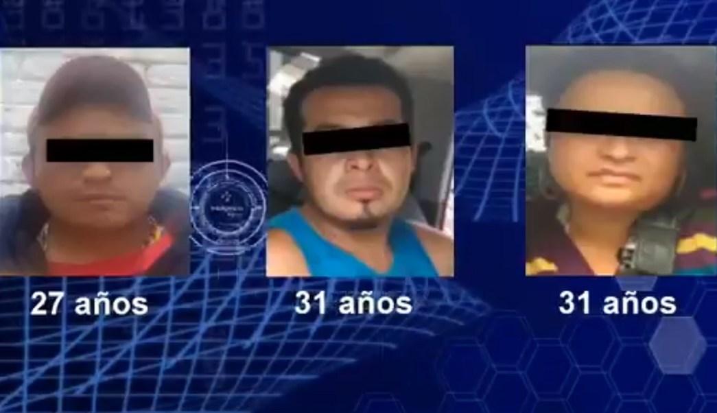Caen 3 presuntos huachicoleros en la Ciudad de México