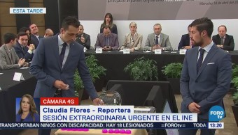 INE realiza sorteo para determinar orden de candidatos en debate presidencial