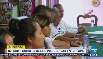 Informe Inseguridad Chilapa Guerrero Derechos Humanos