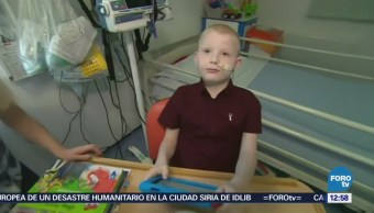 Inglaterra realiza trasplante de cinco órganos a niño de siete años