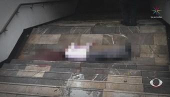 Asesinato Hombre Metro División Del Norte CDMX