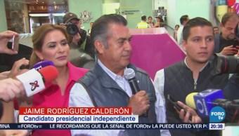 Jaime Rodríguez Bronco Demanda INE Fepade