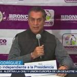 Jaime Rodríguez pediría fin de financiamiento público a partidos si gana elección