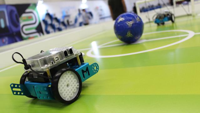 Competencia de robots en Jalisco Talent Land 2018