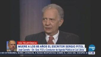 Javier Aranda: Sergio Pitol, maestro para mezclar géneros literarios