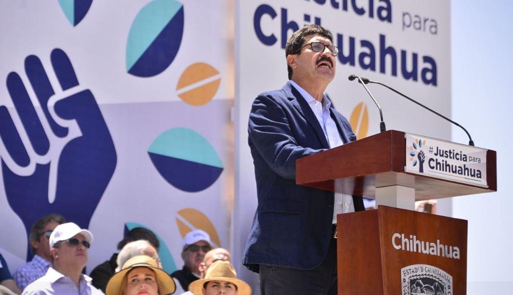 Javier Corral llama a resistencia pacífica contra la impunidad, en Chihuahua