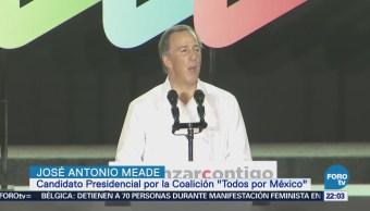 José Antonio Meade Inicia Campaña Electoral Mérid Yucatán