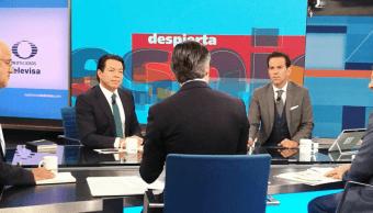 Nuevo aeropuerto, campañas y debate; representantes de candidatos presidenciales en Despierta
