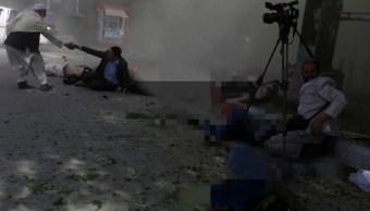 Doble atentado en Kabul deja al menos 21 muertos y 40 heridos