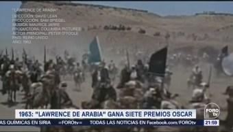 En Una Hora, Televisa News, Efeméride, Hora, Lawrence, Arabia