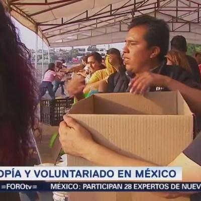 La filantropía y voluntariado en México