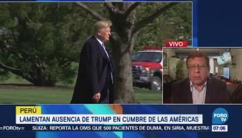Lamentan ausencia de Trump en Cumbre de las Américas