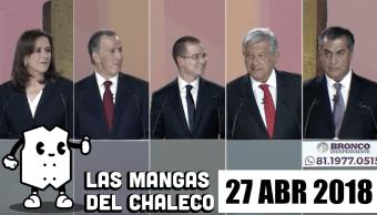 Mangas Chaleco Cinco Aspirantes Presidencia Tuvieron Primer Debate Resumen Mejor
