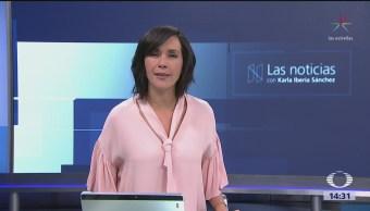 Las Noticias, con Karla Iberia: Programa del 16 de abril de 2018