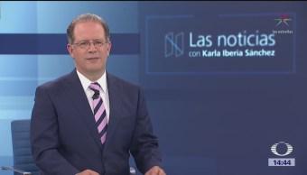 Las Noticias, con Karla Iberia Programa del 25 de abril de 2018