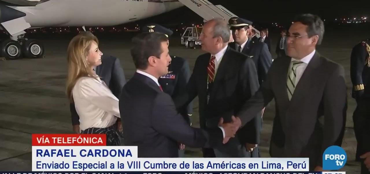 Lima permanece tranquila por ausencia de Trump a Cumbre de las Américas