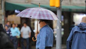 Se registra lluvias intensas en diversos puntos de la CDMX