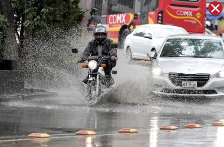 Continuarán lluvias en CDMX la tarde de este domingo