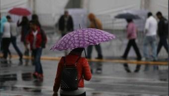 Llueve en doce delegaciones de Ciudad de México, informan autoridades