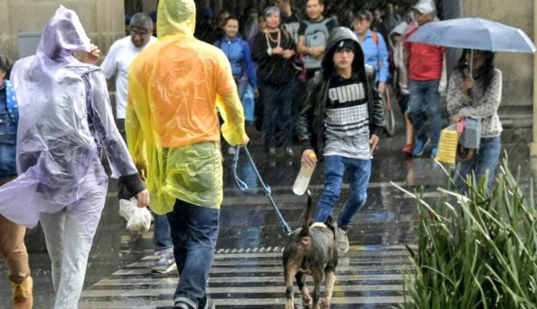 Activan alerta amarilla en CDMX por lluvia y granizo en 4 delegaciones