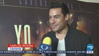 #LoEspectaculardeME: Carlos Rivera presenta nuevo documental