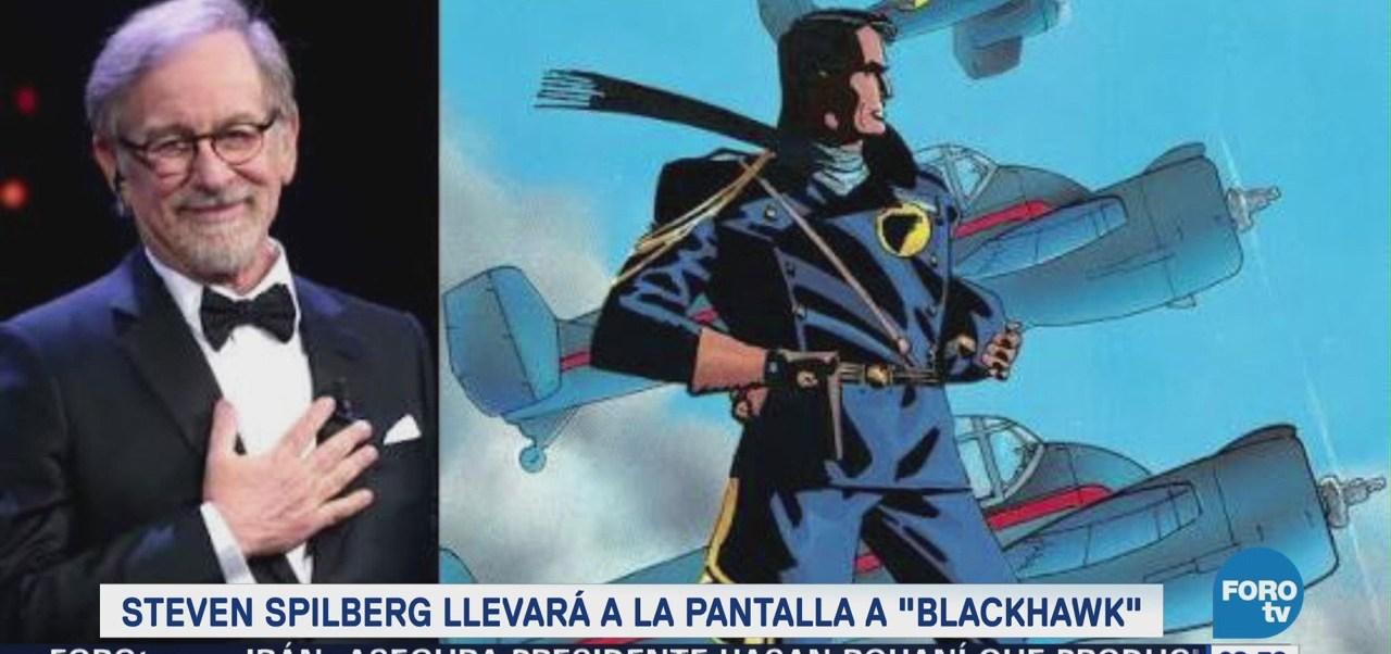 Steven Spielberg llevará a la pantalla a Blackhawk