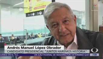 López Obrador pide ayuda a sus seguidores para hacer contracampaña a guerra sucia