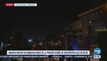 Lula da Silva pasará su primera noche en prisión en Curitiba