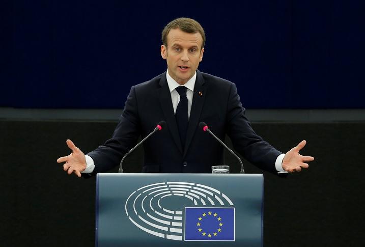 Ataques en Siria fueron 'por el honor de la comunidad internacional': Macron