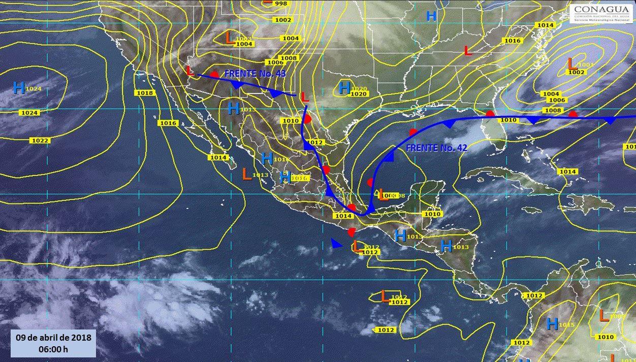 Pronostican tormenta y posible granizo en gran parte del país