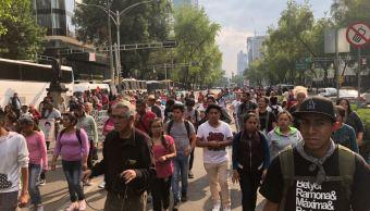Marchan Ayotzinapa 43 meses de desaparición de 43 estudiantes