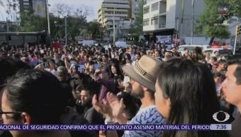 Marchan en Guadalajara por el asesinato de tres estudiantes de cine