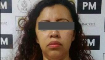 Detienen a exdirectora de Investigaciones Ministeriales de la Fiscalía de Veracruz