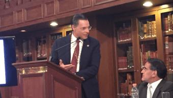 Procurador fiscal explica Senado atribuciones para combatir robo de hidrocarburos