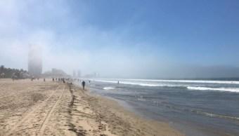 banco neblina cubre puerto mazatlan sinaloa