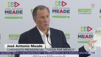 Meade difunde registro de departamentos de AMLO y le pide cumplir donación