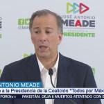 Meade presenta documentos que acreditan propiedades de AMLO